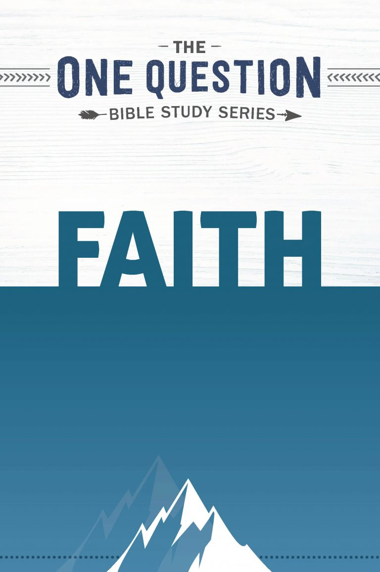 The cover of Faith: One Question Study Series