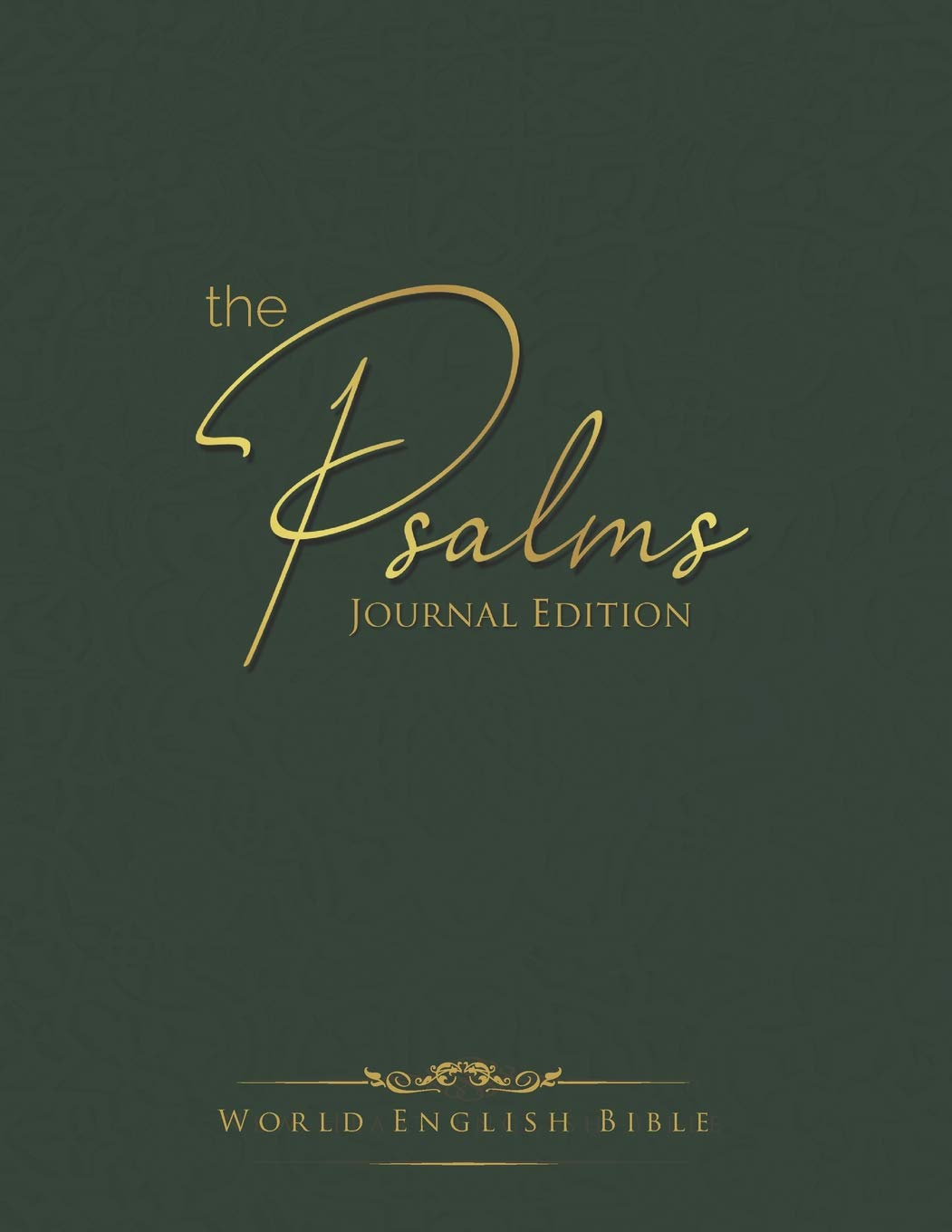 Cover for The Psalms Journal Edition World English Bible