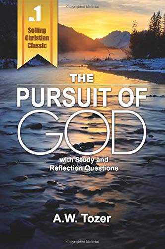 The cover of the book The Pursuit of God with Study Questions.