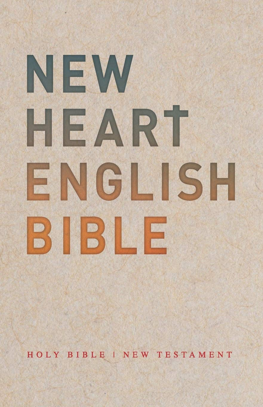 The cover of the New Heart English Bible.