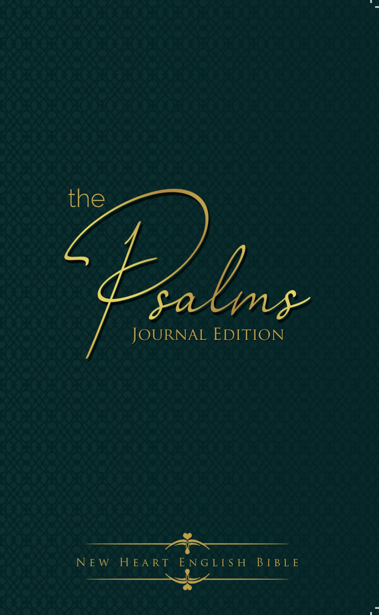 The cover of The Psalms Journal Edition (New Heart English Bible)