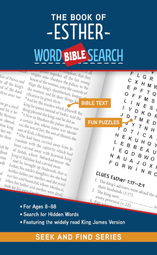 Cover for The Book of Esther: Bible Word Search (Seek and Find)