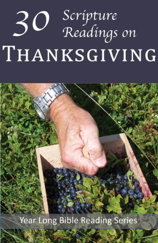 The cover of 30 Scripture Readings on Thanksgiving